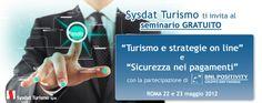 Seminario gratuito Sysdat Turismo Spa in merito a Web Marketing e Sicurezza nei pagamenti