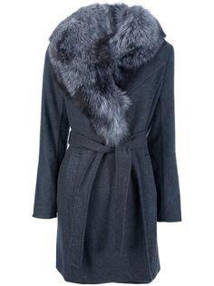 $1124.27 MICHAEL KORS 'Derby' Fox Fur Coat