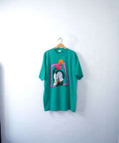 Vintage 80's Chilly Willy penguin shirt penguin top by manorborn
