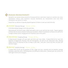Indian Aromatherapy