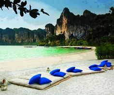 Rayavadee Krabi is a Wedding Venue in Krabi, Krabi, Thailand. See photos and contact Rayavadee Krabi for a tour. Railay Beach Thailand, Thailand Honeymoon, Thailand Travel, Thailand Adventure, Oh The Places You'll Go, Places To Travel, Places To Visit, Travel Destinations, Holiday Destinations
