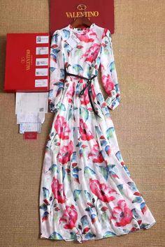 Цветочное платье Валентино 2017 в пол!Размеры S M L Цена 8500 руб
