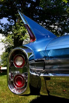 Tailfin of a 1960 Cadillac. Maintenance/restoration of old/vintage vehicles: the material for new cogs/casters/gears/pads could be cast polyamide which I (Cast polyamide) can produce. My contact: tatjana.alic@windowslive.com