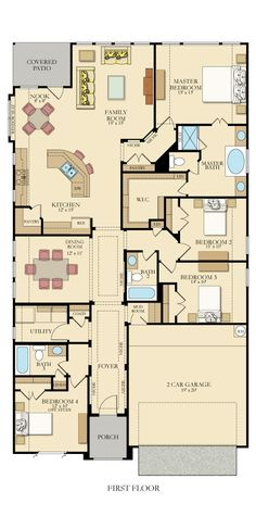4333 Whitney New Home Plan in Willow Grove by Lennar