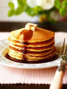 覚えておきたい基本のパンケーキ 『ELLE a table』はおしゃれで簡単なレシピが満載!