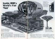 A classic of pavilion design from Charles and Ray Eames, for IBM at the 1964 World's Fair.