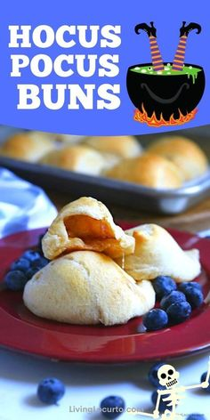 Perfect Halloween treat, Hocus Pocus Buns are delicious melt-in-your mouth cinnamon sugar covered marshmallows baked inside of a crescent roll until golden brown. When you bite into the warm bun, the marshmallow will have magically disappeared and how it got it's name. Similar tasting to a cinnamon roll, but much more fun to make! Find more fun trick or treats at LivingLocurto.com Halloween Snacks For Kids, Halloween Sweets, Halloween Projects, Halloween Ideas, Crescent Roll Dough, Crescent Rolls, Breakfast Time, Best Breakfast, Party Food For Adults