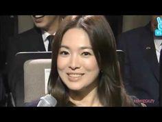 Song joong ki & Song hye kyo - Korean Popular Culture and Arts Awards - YouTube