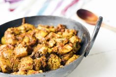 This classic aloo gobi is a great winter warmer