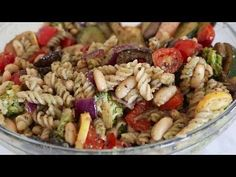 Skinny Taste's tempting Balsamic Roasted Veggie and White Bean Pasta Recipe recipe. A super-healthy starter or main. Our ad-free recipe videos combine directions, ingredients and even information about cookware and matching wines – all in the. Healthy Recipes, New Recipes, Whole Food Recipes, Vegetarian Recipes, Cooking Recipes, Favorite Recipes, Skinny Recipes, Healthy Dinners, Cooking Ideas