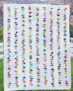 Piece and Quilt with Precuts: Grand Finale Giveaway and Upcoming Quilt Along – Christa Quilts Scrappy Quilts, Easy Quilts, Quilting Projects, Quilting Designs, Quilting Ideas, Flying Geese Quilt, Charm Pack Quilts, Half Square Triangles, Squares