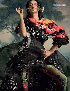 Love Magazine F/W 2014.15 | Adriana Lima & Christy Turlington por Inez & Vinoodh [Editorial]