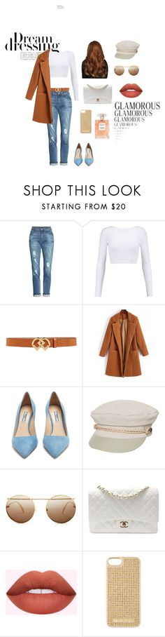 street style by viicfonseca on Polyvore featuring moda, Cushnie Et Ochs, KUT from the Kloth, Prada, Chanel, Brixton, MICHAEL Michael Kors, Alexander McQueen and Dsquared2