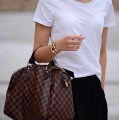 Street Styles | Louis Vuitton Handbags #Louis #Vuitton #Handbags 2015 Latest LV Handbags Online, Pls Repin It And Buy Now, Not Long Time Lowest Price, Thx.
