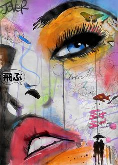 View LOUI JOVER's Artwork on Saatchi Art. Find art for sale at great prices from artists including Paintings, Photography, Sculpture, and Prints by Top Emerging Artists like LOUI JOVER. Arte Pop, Pop Art, Newspaper Art, Portrait Art, Fantasy Art, Art Drawings, Saatchi Art, Art Projects, Graffiti