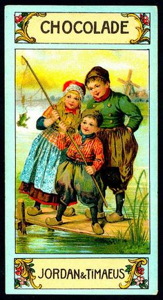 German Tradecard - Dutch Children #4 by cigcardpix, via Flickr