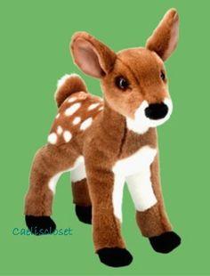 "Douglas Delila FAWN 11"" Plush Baby Deer Stuffed Animal Cuddle Toy NEW #DouglasCuddleToy"