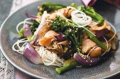 Smoked salmon stir-fry recipe - goodtoknow