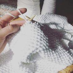 Rice Stitch Baby Blanket, Free Knitting Pattern - PurlsAndPixels
