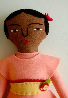 Mimi Kirchner's Hand Sewn FeltDoll - Mimi's Hand Sewn Felt Dolls - the purl bee