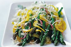 Simple Sautéed Asparagus, Peppers & Onions recipe