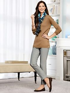 Talbots - Side-Button Sweater | Pullovers |