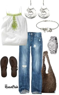 """Easy"" by hosefish on Polyvore"