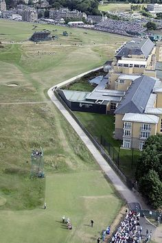 The Road Hole at the Old Course, St. Andrews I Rock Bottom Golf #rockbottomgolf