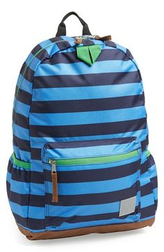 Hanna Andersson 'Classic' Backpack (Boys) at Nordstrom.com. A heavy-duty backpack crafted from colorful, stain- and water-resistant polyester features padded, adjustable shoulder straps for comfort, and an array of pockets to keep him organized.