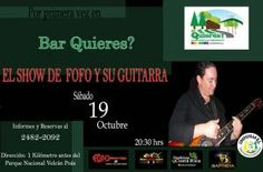 SHOW DE FOFOYSUGUITARRA EN BAR QUIEREShttp://desktopcostarica.com/eventos/2013/show-de-fofoysuguitarra-en-bar-quieres