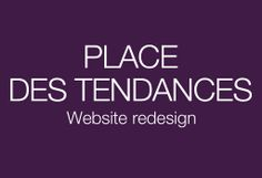 #Axance - Place des tendances #website #redesign