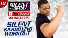 "40 Min. Quiet Kickboxing   Low Impact ""Quiet"" HIIT Workout   You Choose:..."