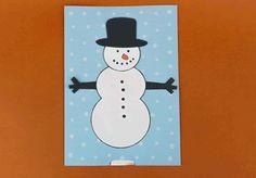 Snowman Animated Christmas Card