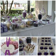Awesome 60+ Awesome Purple Candy Table For Your Wedding  https://oosile.com/60-awesome-purple-candy-table-for-your-wedding-6904
