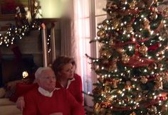 Christmas Joy 2016  Norm Joyce Dougherty with husband Bill Dougherty