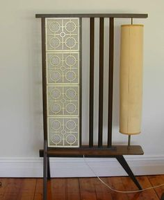 Room divider with lamp!