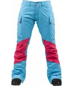 On Sale Burton Gloria Snowboard Pants Avatar Colorblock - Womens 2013  ***WANT LIST*** Would match my #Burton #snowboard PERFECTLY