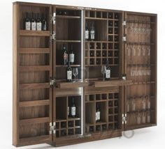 #bar #homebar #furniture #furnishings #interior #design #interiordesign #designideas бар Riva 1920 Cambusa, Cambusa Wine
