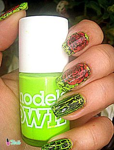 Kolorowy Świat Terii: Róże i neonowy Models Own- moja nowa miłość!