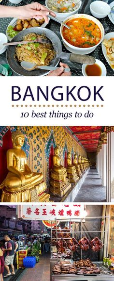 The Ultimate Travel Guide to the Best Things to Do in Bangkok, Thailand.
