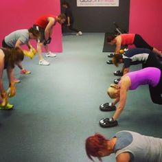 We're getting our cores and arms firing at our boxing session! #boxing #workout #fitness #fit #sweat
