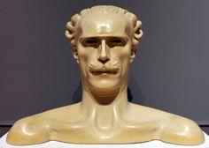 Adolfo Wildt Il maestro Arturo Toscanini Italian Sculptors, Figurative, Textiles, Statue, Patterns, Painting, Art, Block Prints