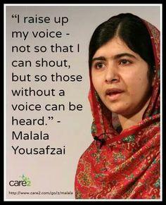 Malala Yousafzai - Nobel Peace Prize recipient