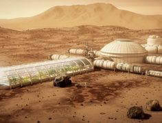 A sustainable outpost on the Red Planet may be humanity's only chance of survival, but challenges include growing food and overcoming insomnia