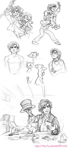 LAST ONE - SO MUCH MAD HATTER :D // Gangfield and Dennis Dump - May 2013 by *The-Ez on deviantART