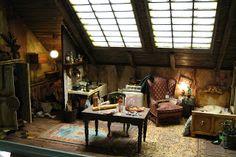 lotjesdollshouse: maart 2009  /  the attic