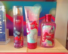 This is BATH  BODY WORK sinecure collection (PARIS)