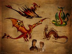 About dragons by =Culpeo-Fox on deviantART