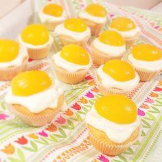 backen, baking, muffins, cupcakes, ostern, osterbäckerei, kuchen, dessert, spiegelei
