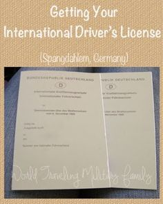 international drivers license ansbach germany